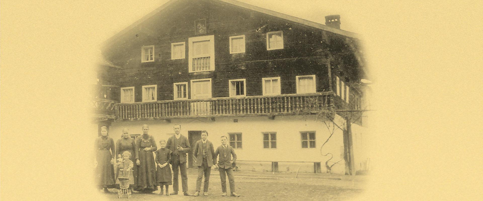 Haus-damals